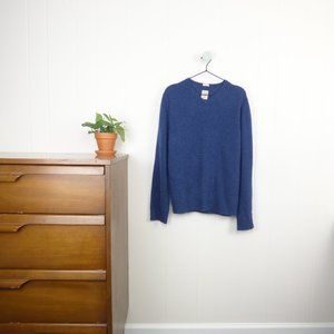Article 100% Cashmere Navy Blue V Neck Sweater
